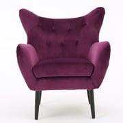 Home Loft Concepts Allesandro Arm Chair; Purple