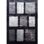 Rug Factory Plus Lola Hand-Tufted Black/Gray Area Rug