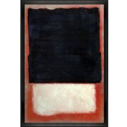 Tori Home '1954' by Mark Rothko Framed Original Painting on Canvas