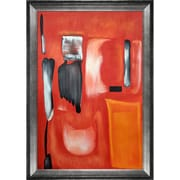 Tori Home '1949' by Mark Rothko Framed Original Painting on Canvas