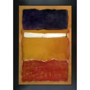 Tori Home '1951' by Mark Rothko Framed Original Painting on Canvas