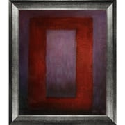 Tori Home 'Red on Maroon, 1959' by Mark Rothko Framed Original Painting on Canvas