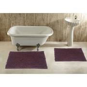 Daniels Bath 2 Piece Bath Rug Set; Brown
