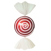 Queens of Christmas Swirl Peppermint Candy Ornament