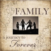 Adams & Co Family A Journey to Forever Wood Picture Frame
