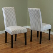 Monsoon Pacific Parsons Chair (Set of 2); Harbor Gray