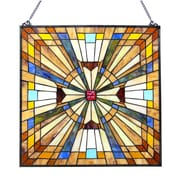 Chloe Lighting Mission Square Glass Window Panel