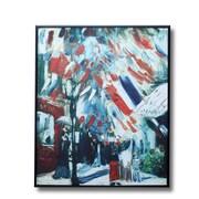 Wellyer ''Fourteenth of July Celebration in Paris'' by Vincent Van Gogh Framed Painting Print