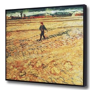 Wellyer ''The Sower'' by Vincent Van Gogh Framed Painting Print