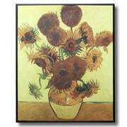 Wellyer ''The Sunflowers'' by Vincent Van Gogh Framed Painting Print
