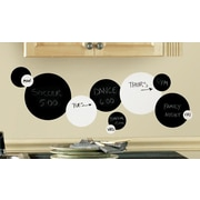 Room Mates Chalkboard and Dry Erase Dots Peel and Stick Wall Decals