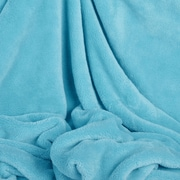 Berkshire Blanket Shearloft Plush Throw; Waterfall Blue