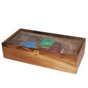 Woodard & Charles 10 Compartment Tea Box
