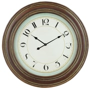 Aspire 35'' Garrett Wooden Wall Clock