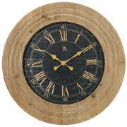 Aspire 30'' Jillian Wooden Wall Clock