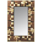 Butler Cosmopolitan Gagne Hair-On-Hide Wall Mirror