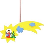 Alexander Taron Christian Ulbricht Angel in Comet Ornament by