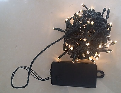 Creative Motion 100 Light String Lights; Warm White WYF078279107801