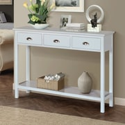 Gallerie Decor Newport Console Table; Cream