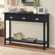 Gallerie Decor Newport Console Table; Espresso