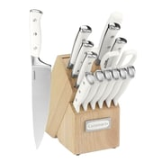 Cuisinart® C77WTR-15P Classic® Stainless Steel 15 Piece Cutlery Set with Block