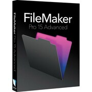 FileMaker Pro 15 Advanced Software, 1 User, Microsoft® Windows 7/8.1/10, Download (HJVE2ZM/A)