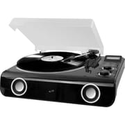 iLive™ ITTB775B All-In-One Turntable with Bluetooth, Radio and Stereo Speakers
