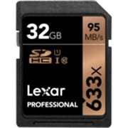 Lexar™ LSD32GCB1NL633 Professional Class 10/UHS-I 32GB SDHC Flash Memory Card