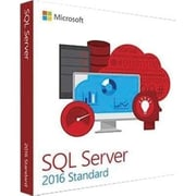 Microsoft® SQL Server 2016 Standard Edition Software, 1 User, Disk (228-10602)