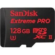 SanDisk® SDSQXPJ-128G-ANCM3 Extreme Pro Class 10/UHS-II (U3) 128GB microSDXC Memory Card