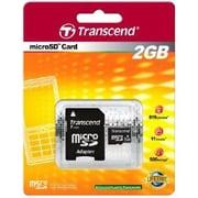Transcend  TS2GUSD Standard 2GB MicroSD Flash Memory Card