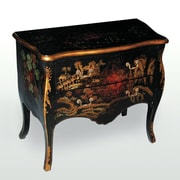 AA Importing Chinoiserie Bombay 2 Drawer Chest