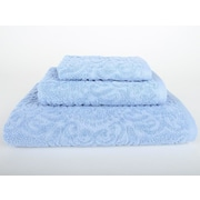 Mi Casa Deco Sanderson 3 Piece Bath Towel Set; Vista Blue