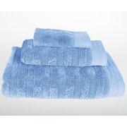 Mi Casa Deco Darwin 3 Piece Bath Towel Set; Vista Blue