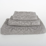 Mi Casa Deco Sanderson 3 Piece Towel Set; Light Gray