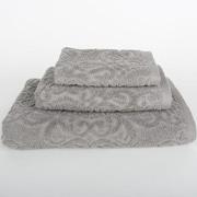 Mi Casa Deco Sanderson 3 Piece Towel Set (Set of 3); Light Gray