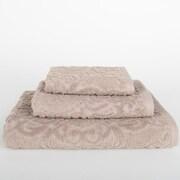 Mi Casa Deco Sanderson 3 Piece Towel Set (Set of 3); Portabella Beige