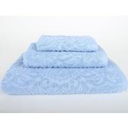 Mi Casa Deco Sanderson 3 Piece Towel Set (Set of 3); Vista Blue