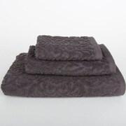 Mi Casa Deco Sanderson 3 Piece Towel Set (Set of 3); Dark Gray