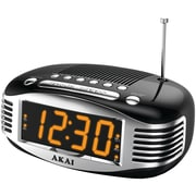 Akai Alarm Radio Clock; Black