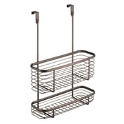 Axis Over the Cabinet Kitchen Storage Organizer Basket, 2-Tier, Bronze (56171)