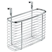 Axis Over the Cabinet Kitchen Storage Organizer Basket, Medium, Chrome (56270)