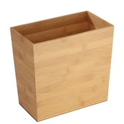 Formbu Rectangular Wastebasket Trash Can - Bamboo (85742)