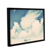 ArtWall Clouds On A Beautiful Day by Elena Ray Framed Painting Print on Wrapped Canvas