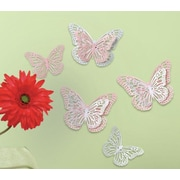 Room Mates Butterfly Surface Embellishments Wall Decal