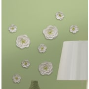 Room Mates Flower Surface Embellishments Wall Decal