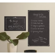 Room Mates Decorative Chalkboard Peel and Stick Giant Wall Decal