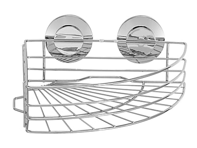 Everloc Push N' Loc Corner Shower Caddy WYF078279217067