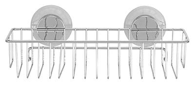 Everloc Economy Push N' Loc Metal Wall Mounted Shower Caddy WYF078279217077