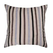 Lifestyle Bedding Solutions Buttons and Stripes Decorative Throw Pillows (Set of 2)